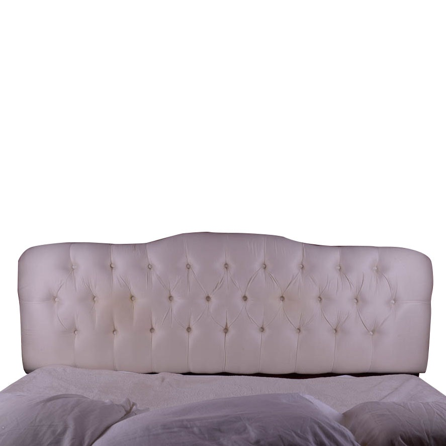 King Size Button-Tufted Headboard