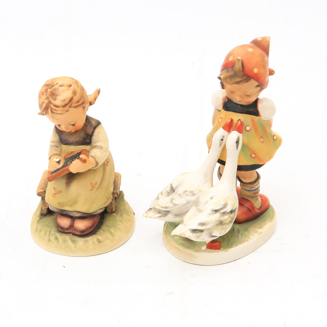 Pair of Hummel Figurines