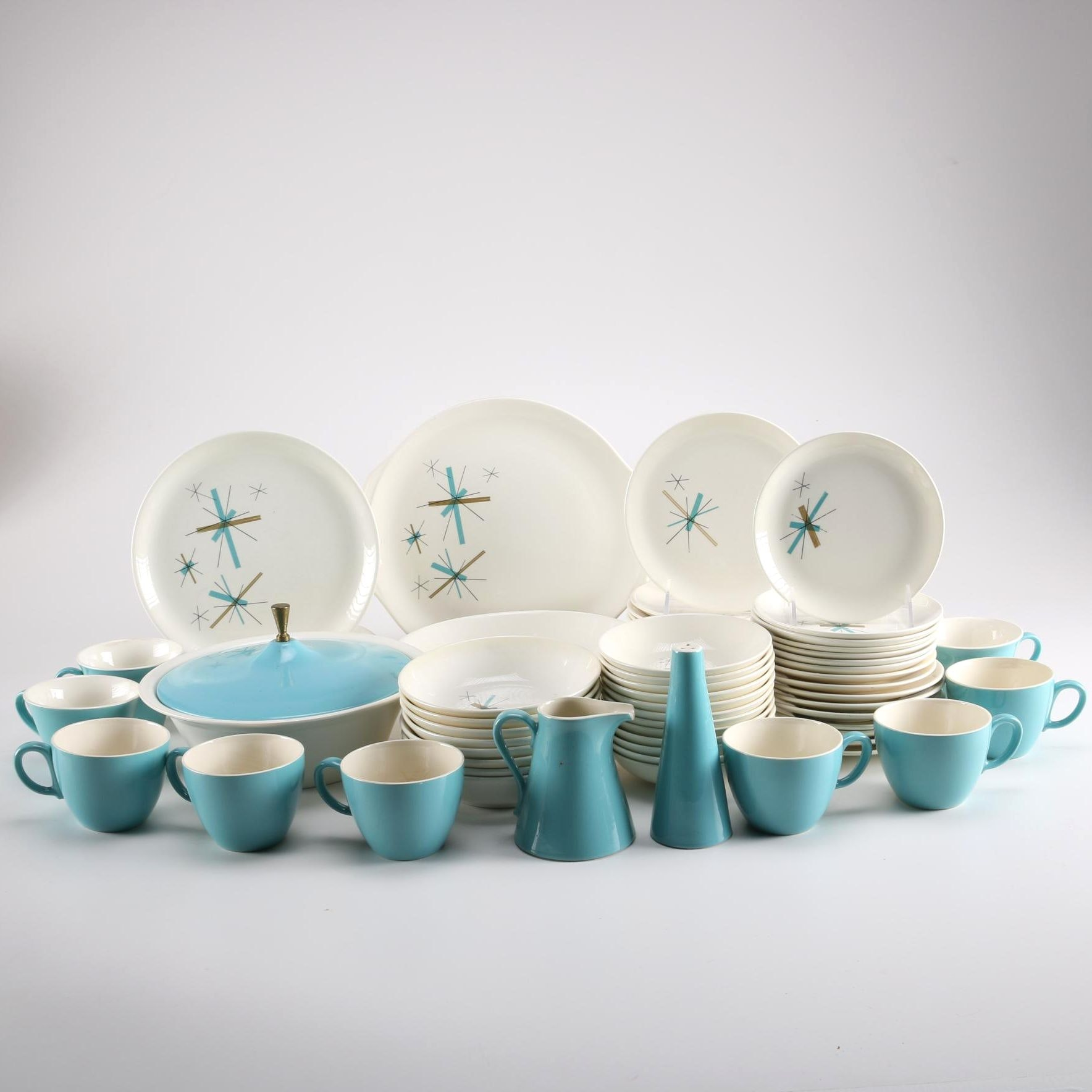 "Set of Salem ""North Star"" Dinnerware"