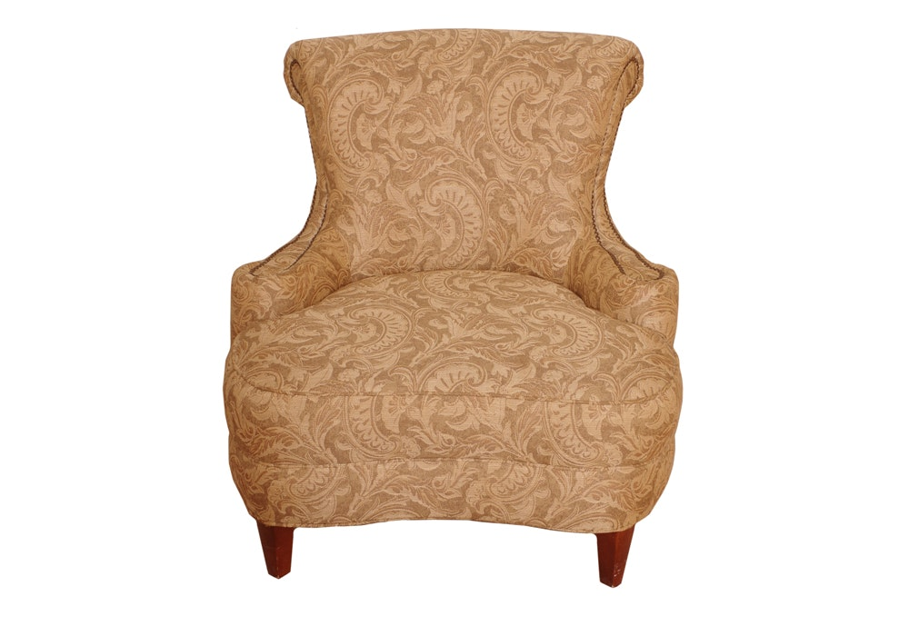 Victorian Style Cushioned Chair ...
