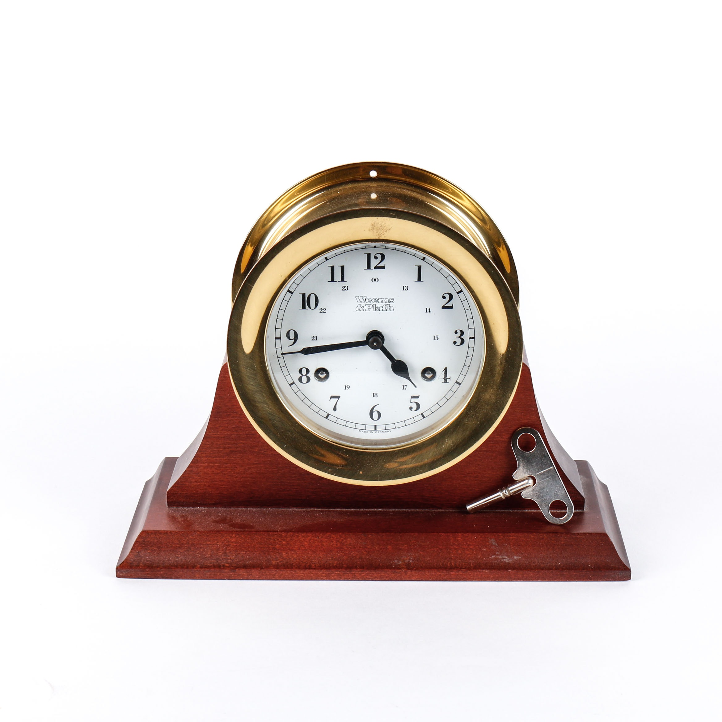 Weems & Palth Maritime Mantel Clock