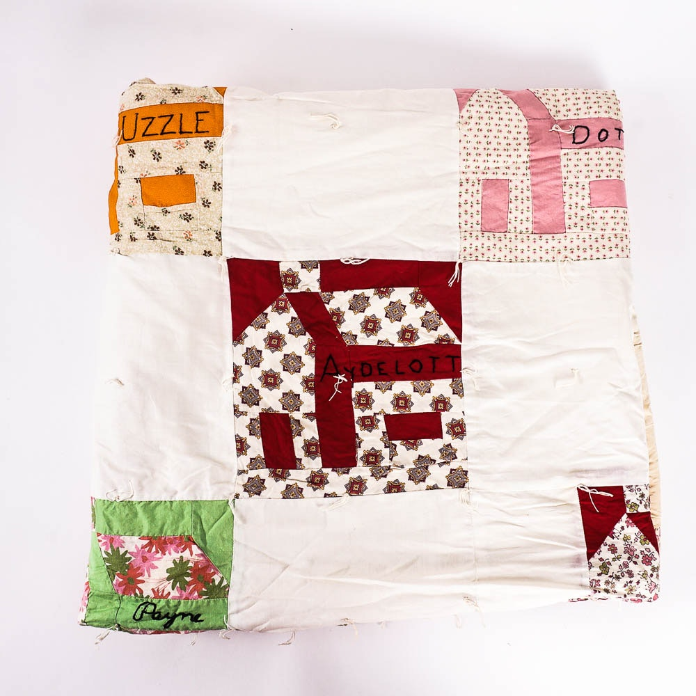 Vintage Neighborhood Quilt