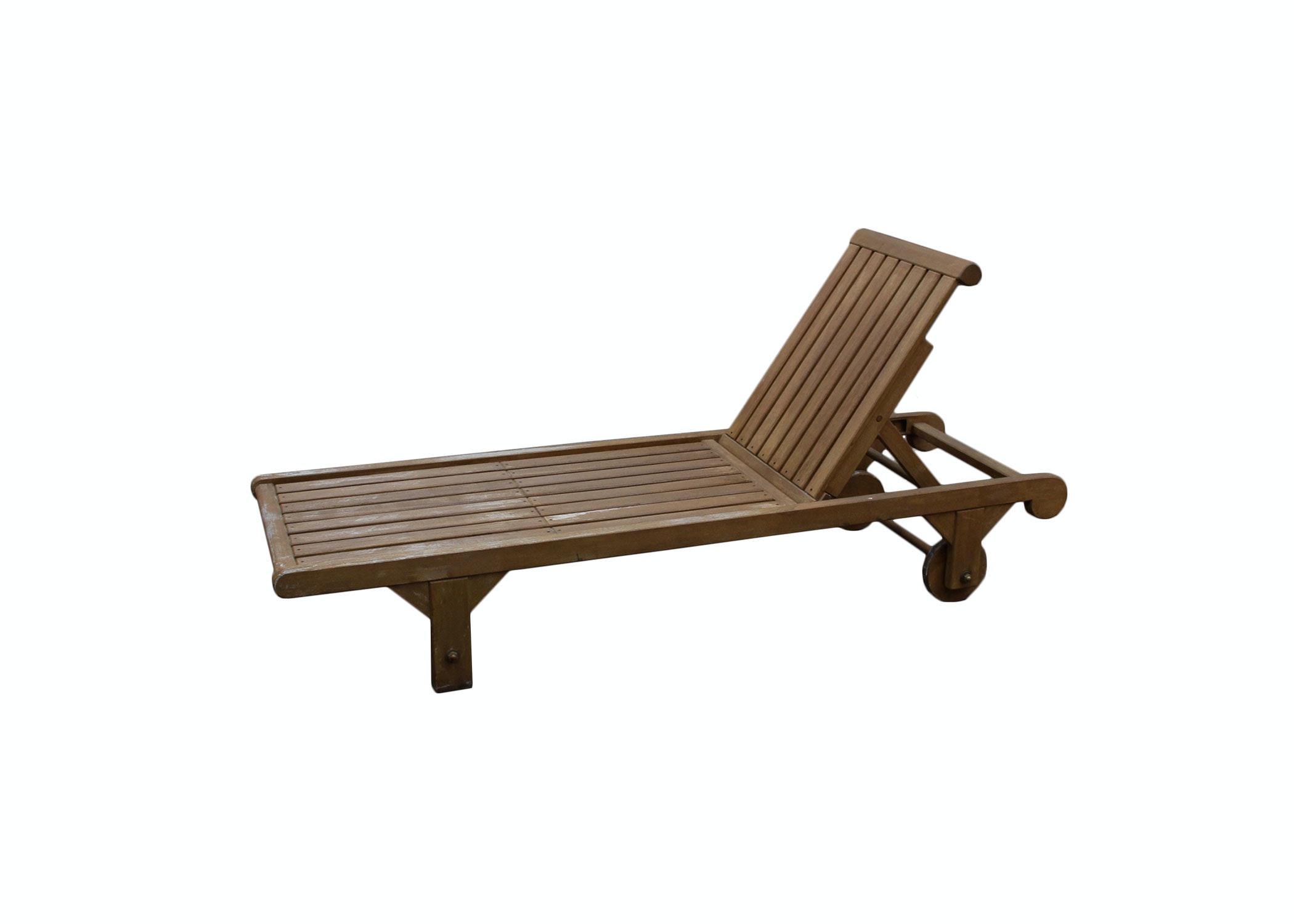 Kingsley-Bate Wooden Pool Lounge Chair