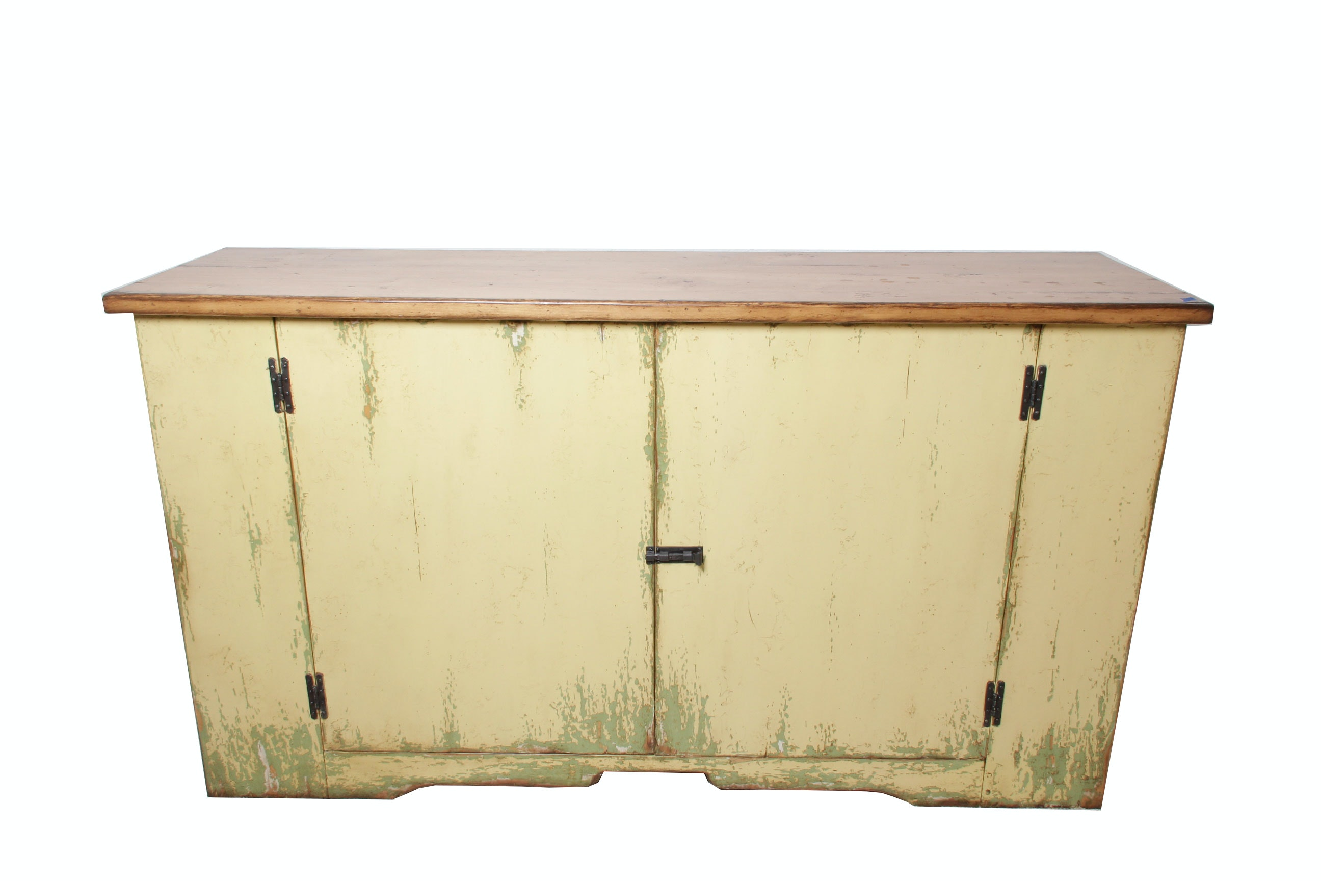 Contemporary Primitive Style Sideboard
