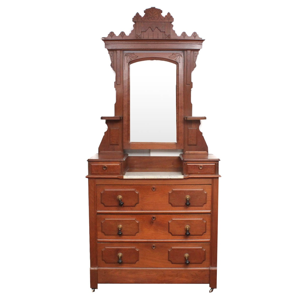 Eastlake Dresser with Mirror