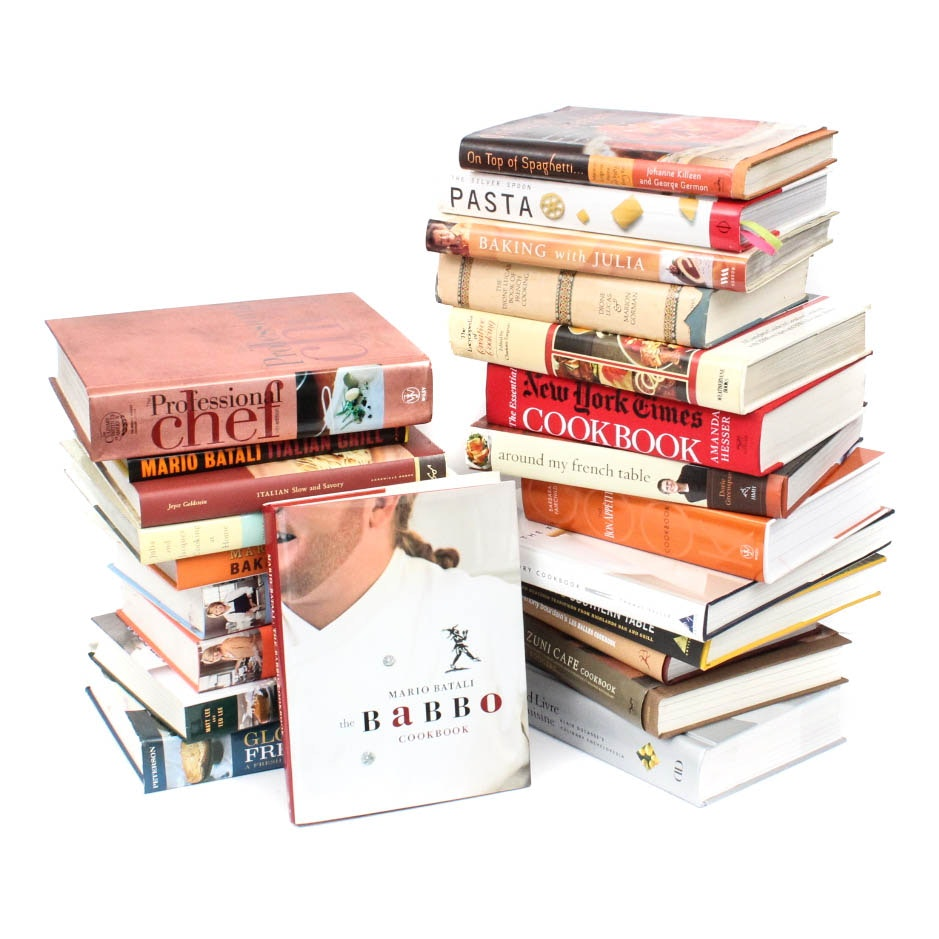 Generous Collection of Cookbooks