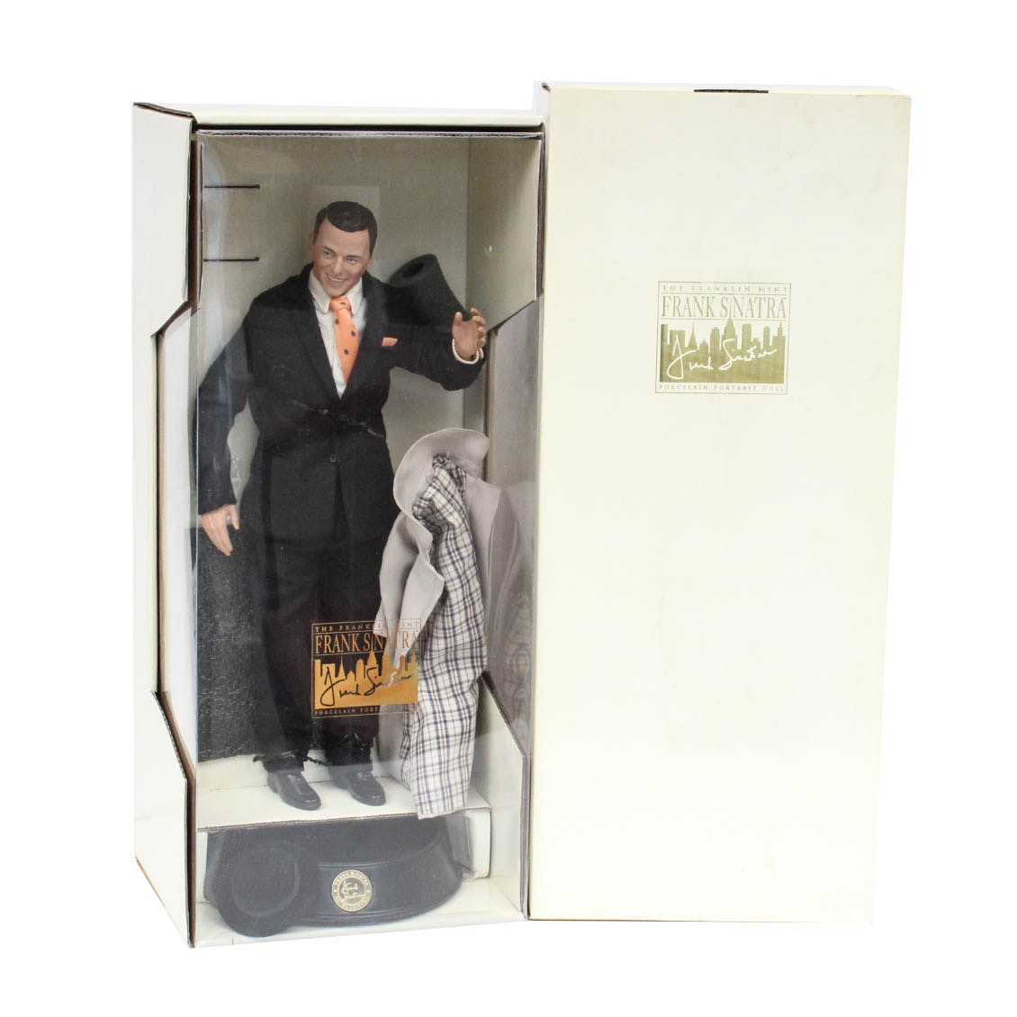Frank Sinatra Porcelain Portrait Doll