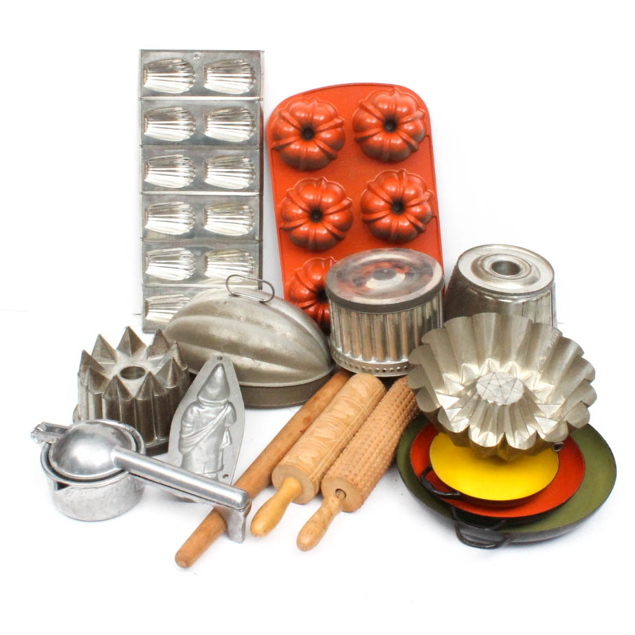 Vintage Baking and Cooking Assortment