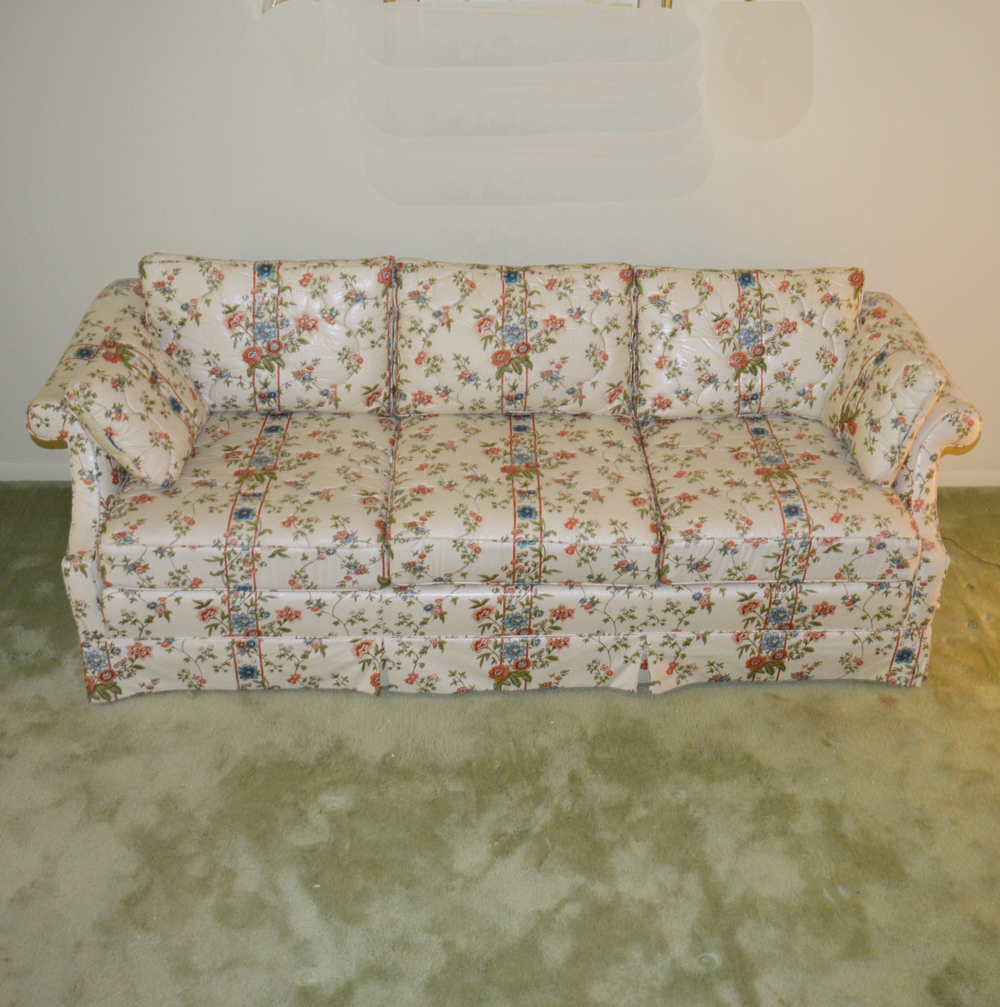 Floral Sofa by Hickory-Fry Furniture Company