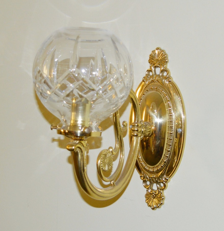 Lismore Waterford Wall Sconces EBTH – Waterford Lismore Chandelier