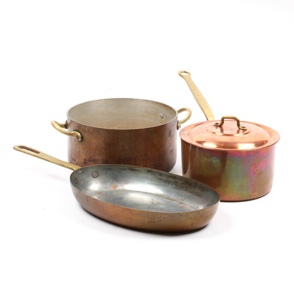 Copper Pots and Pans