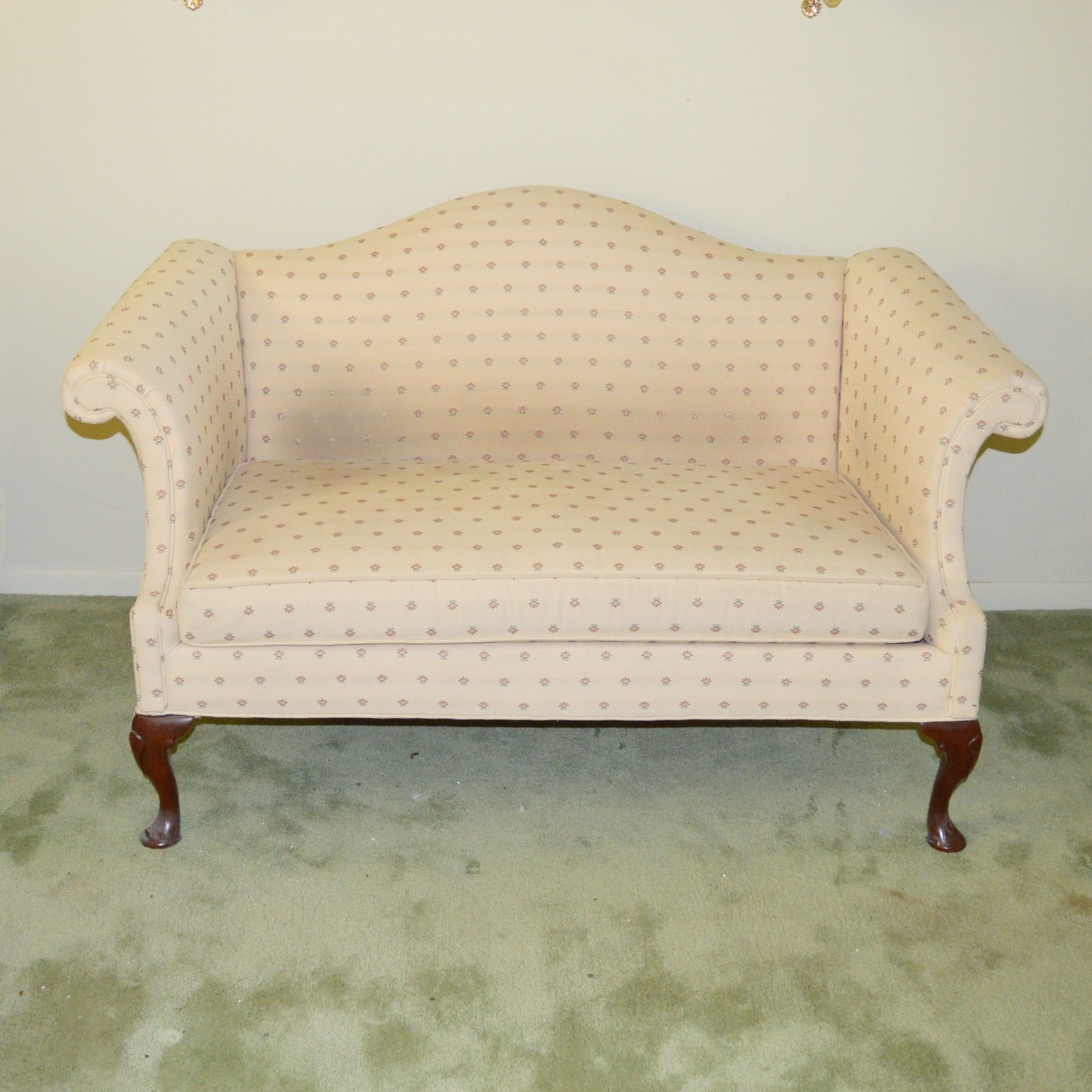 Settee by Hickory Chair Fine Furniture