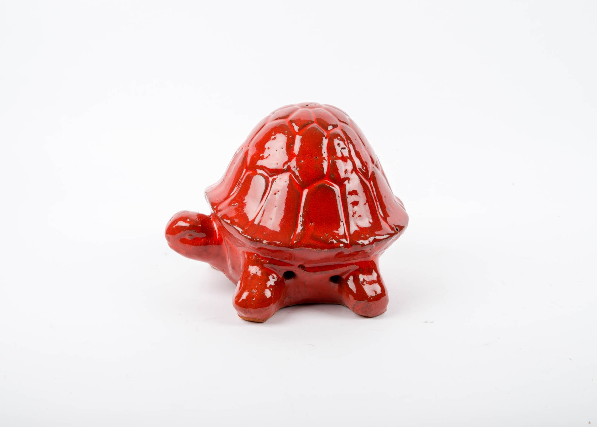Red Terracotta Turtle