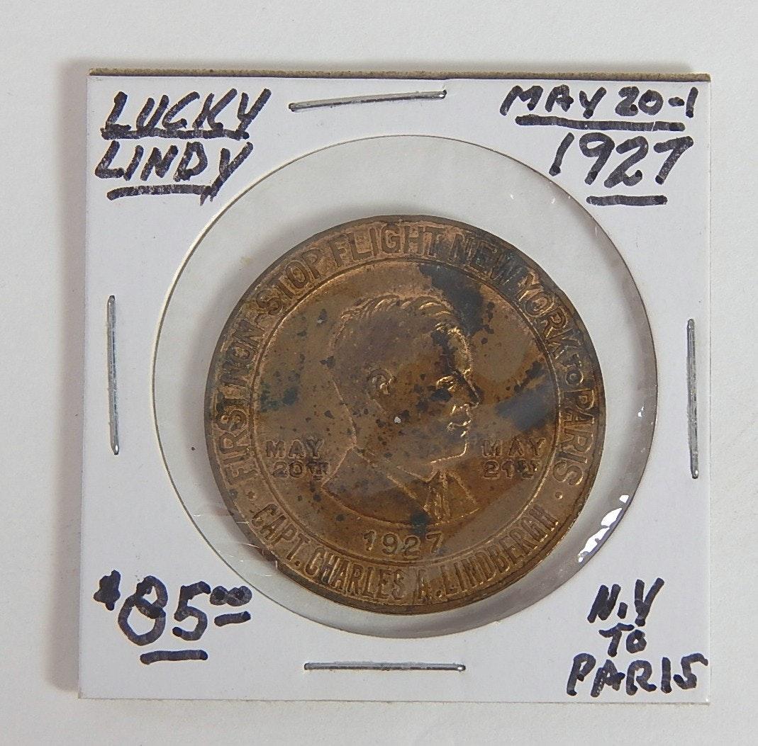 1927 Lucky Lindbergh Medal