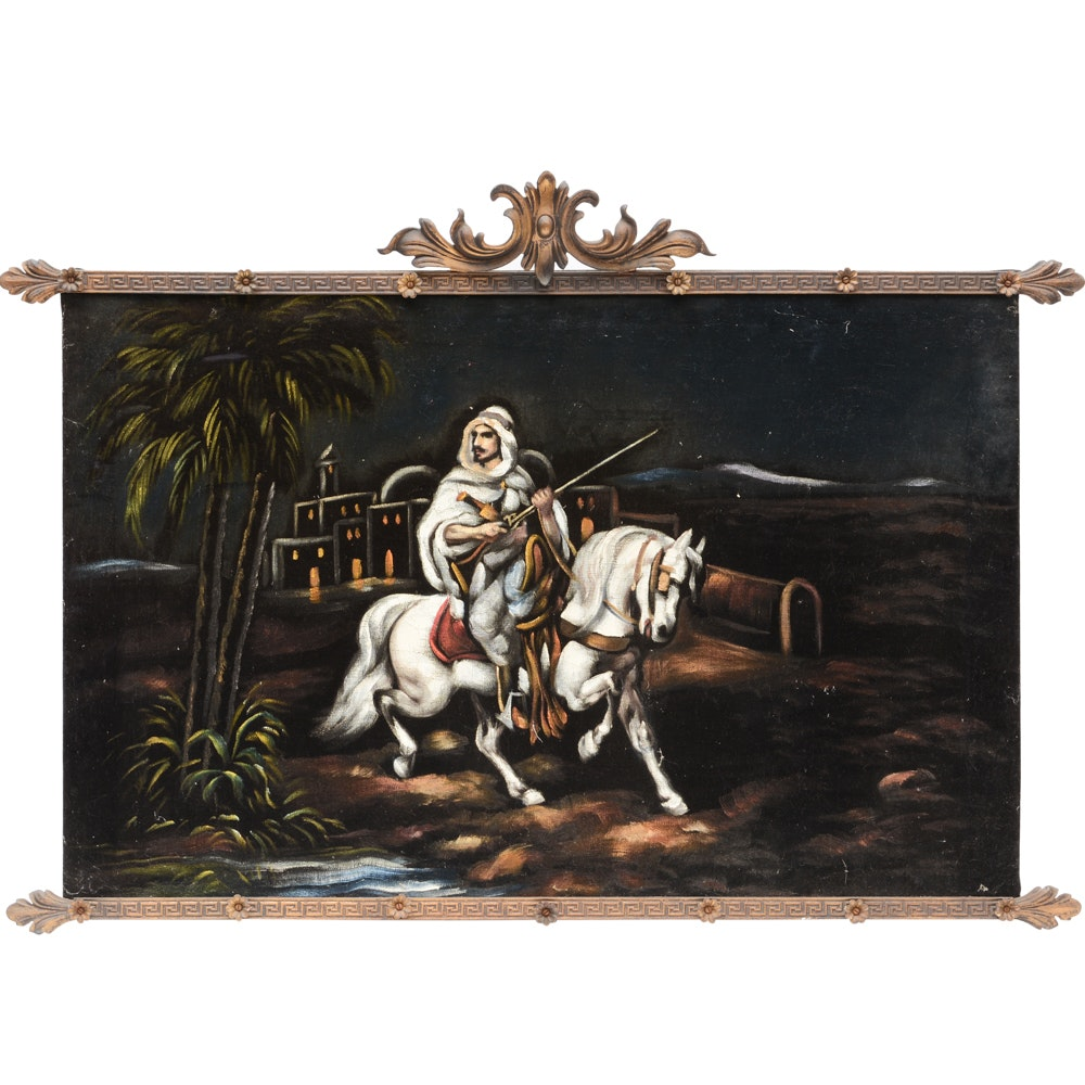 Painting on Black Velvet