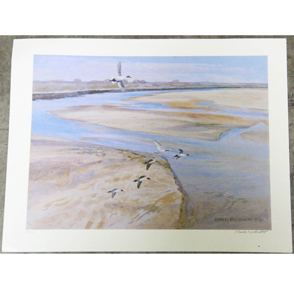 Charles Beckendorf Limited Edition Offset Lithograph