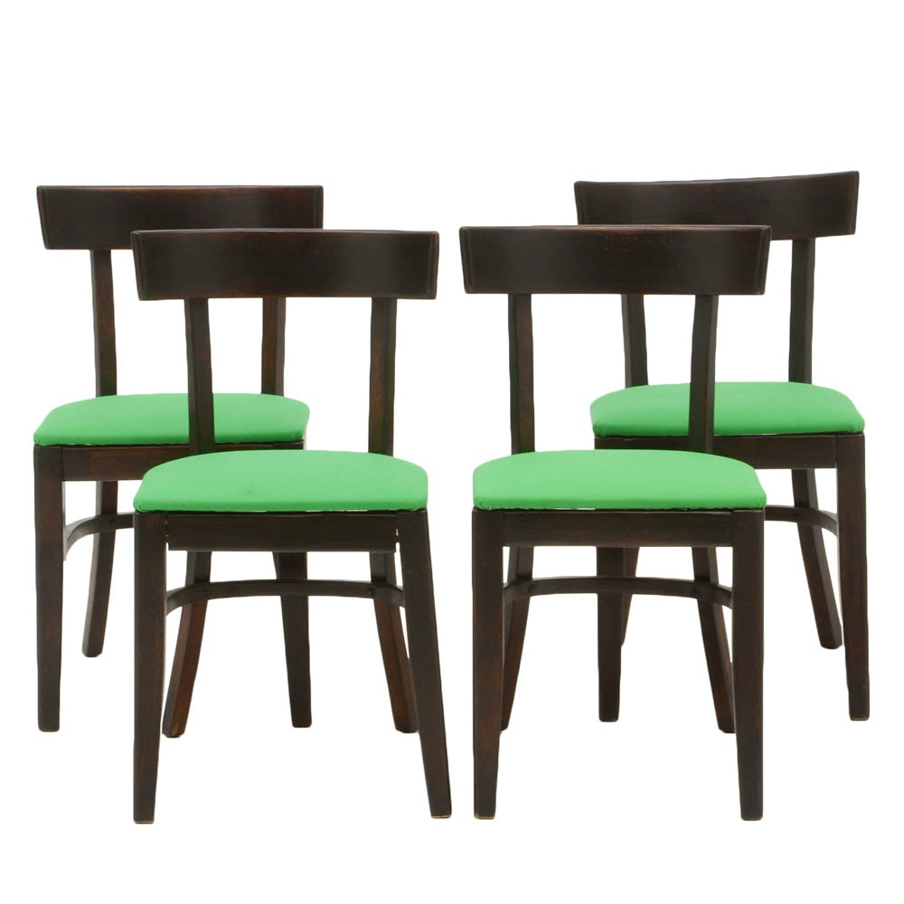 Set of Four Cafe Chairs by Bianco