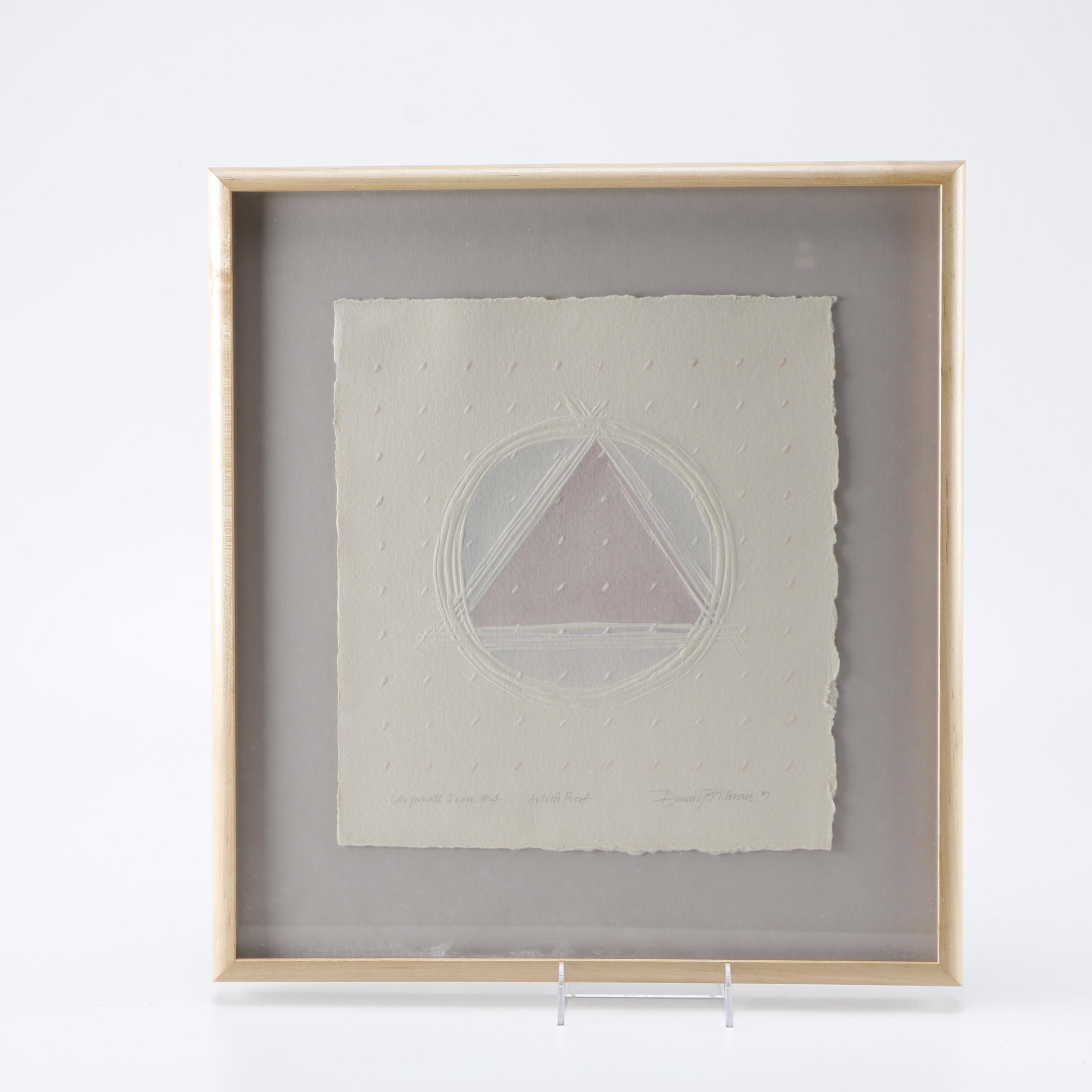 "Dennis P. Moran Artist's Proof Relief Print ""Corporate Icon #4"""