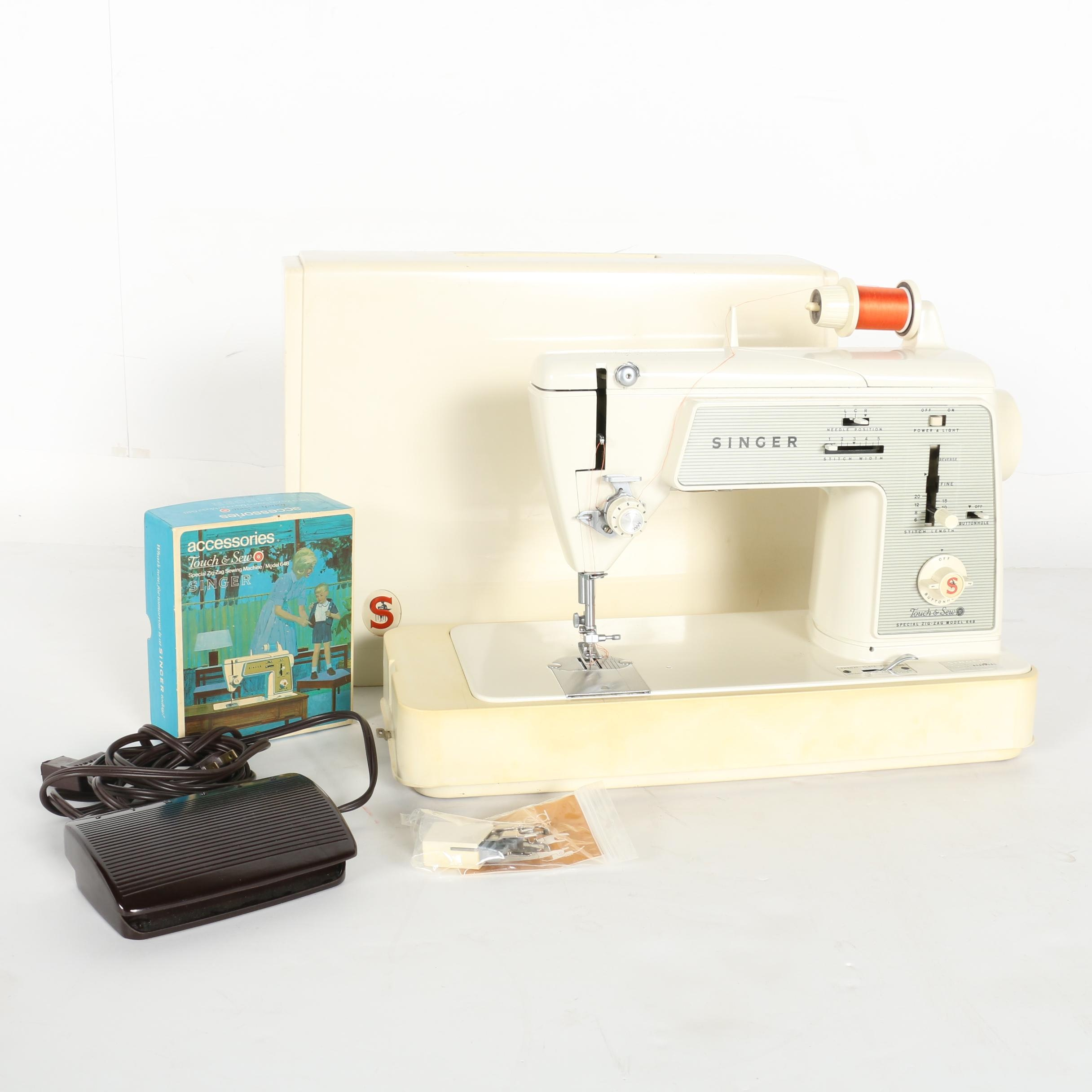 Singer Touch & Sew Special Sewing Machine