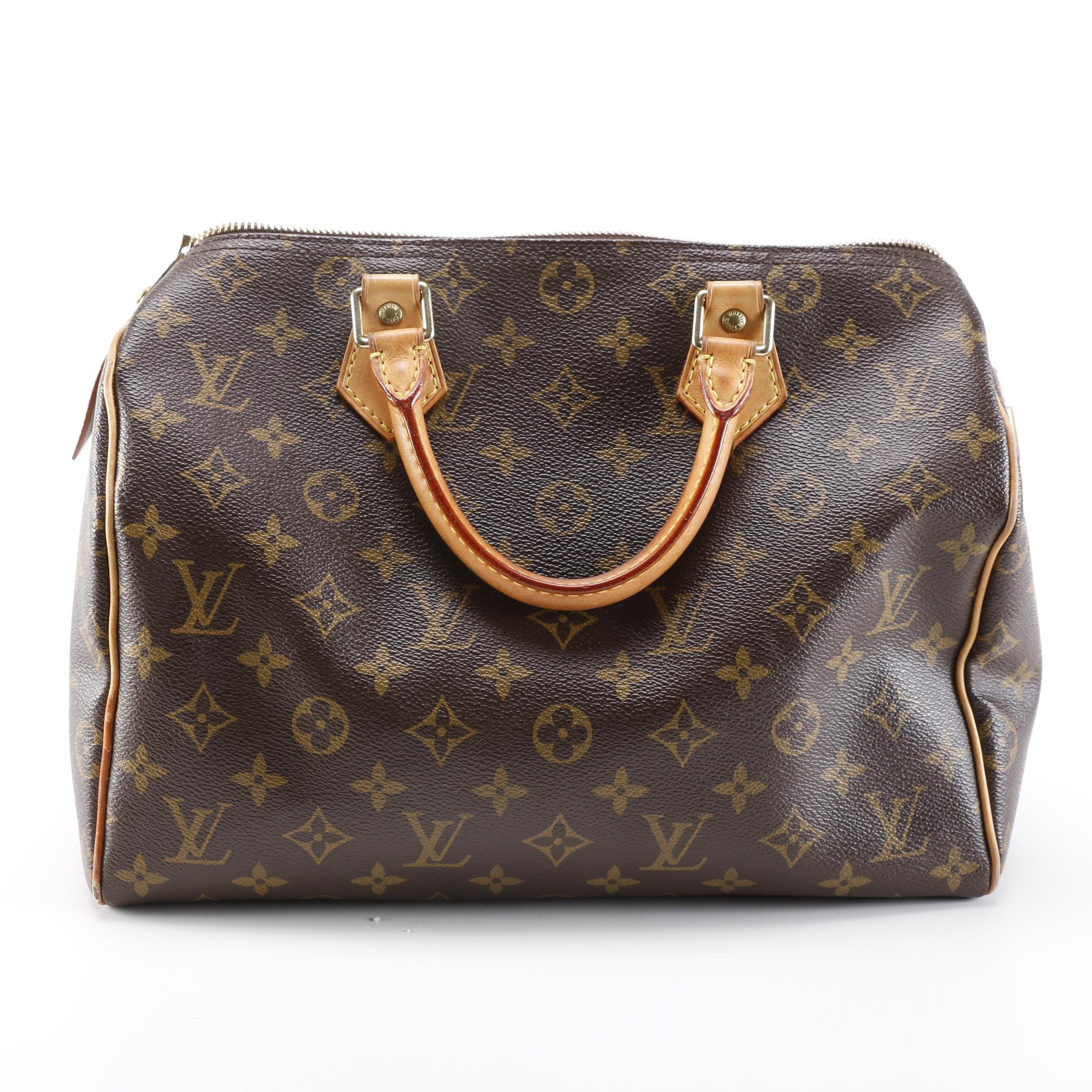 2006 Louis Vuitton Monogram Canvas Speedy Handbag