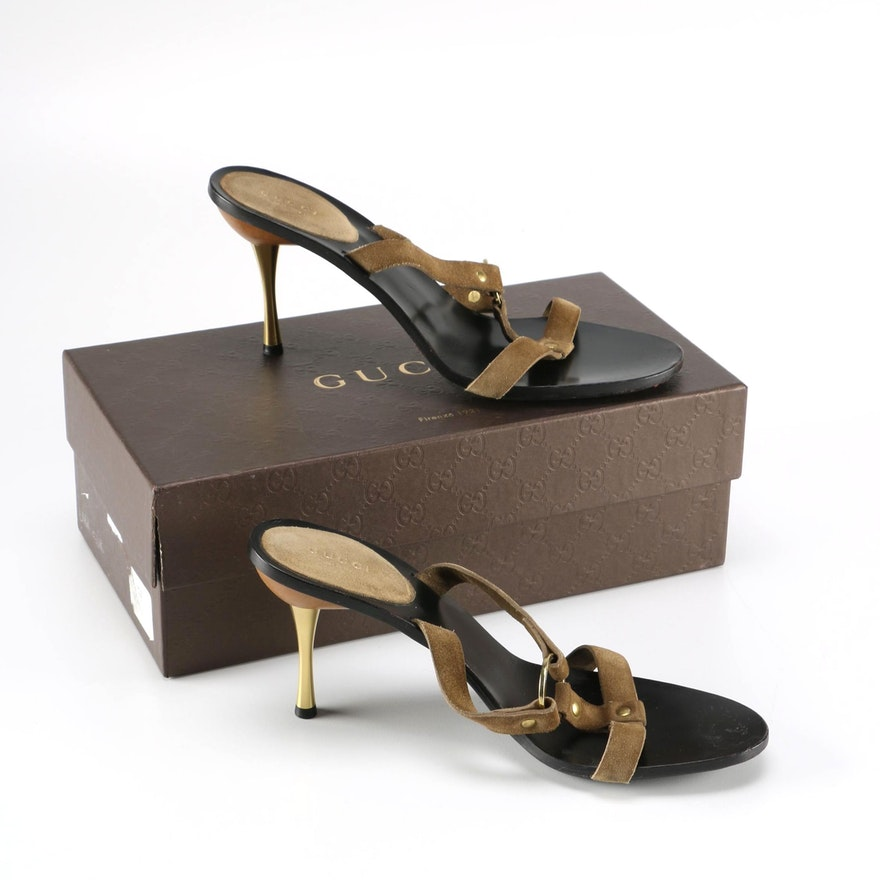 36fbd071b78 Women s Gucci Slide Sandals   EBTH