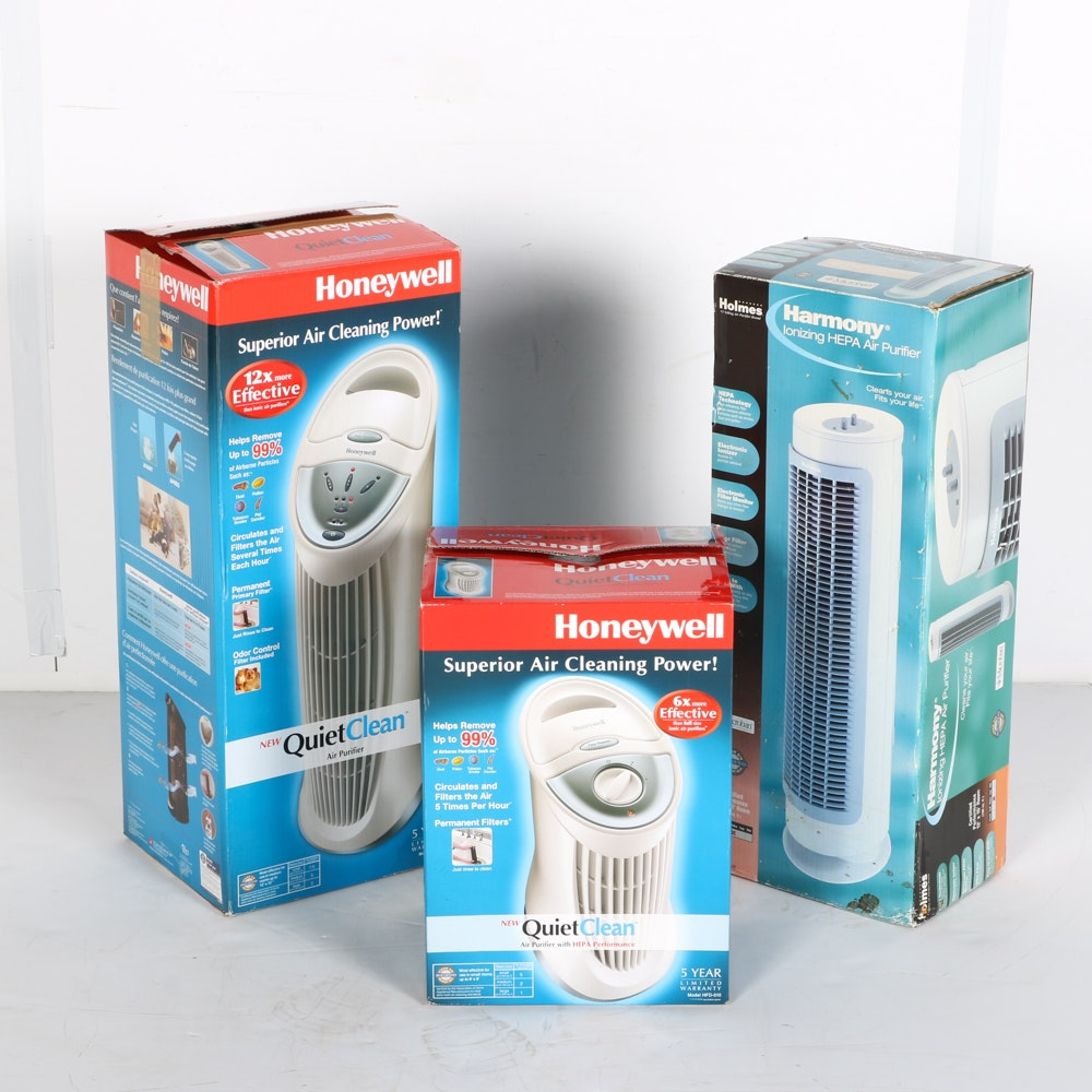 Collection of Three Air Filtration Devices