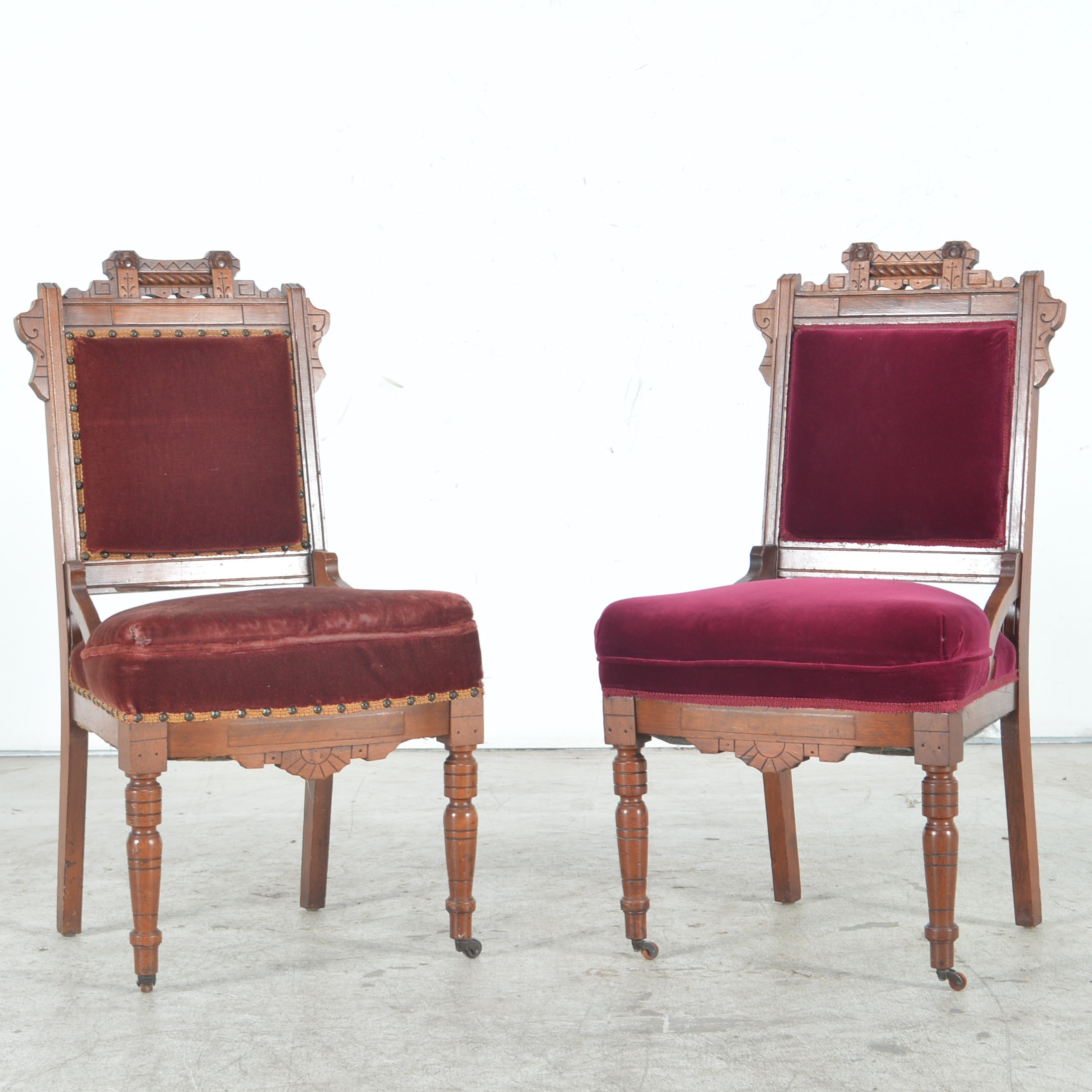 Antique Eastlake Side Chairs