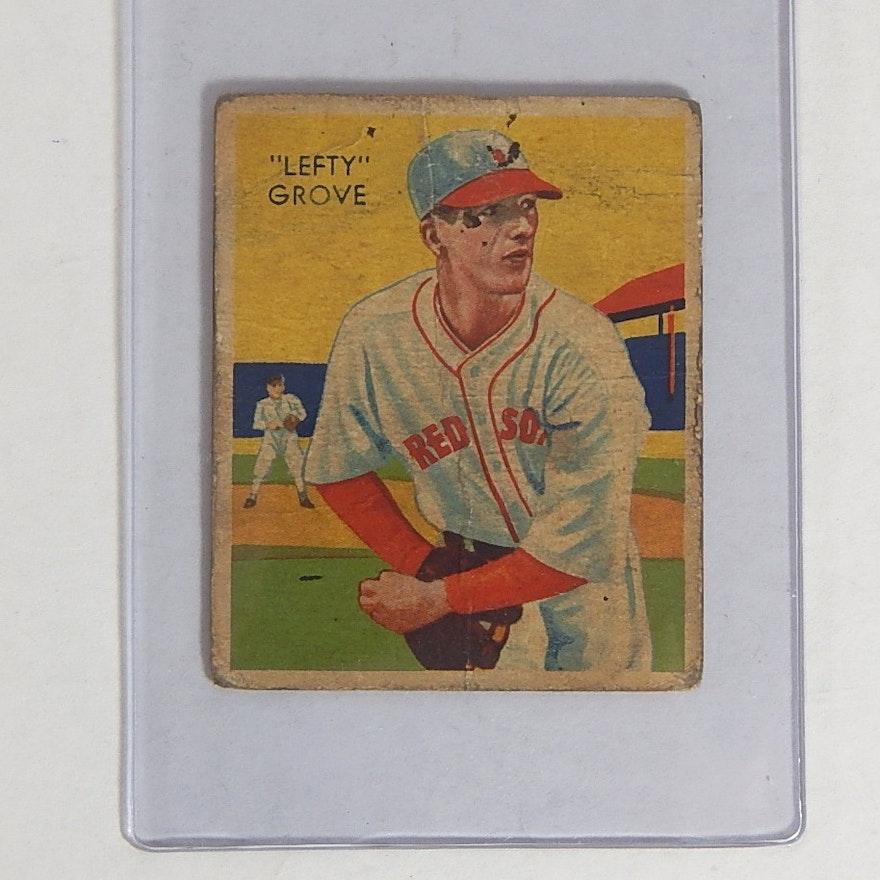 1934 Diamond Stars Hof Lefty Grove 1 Card