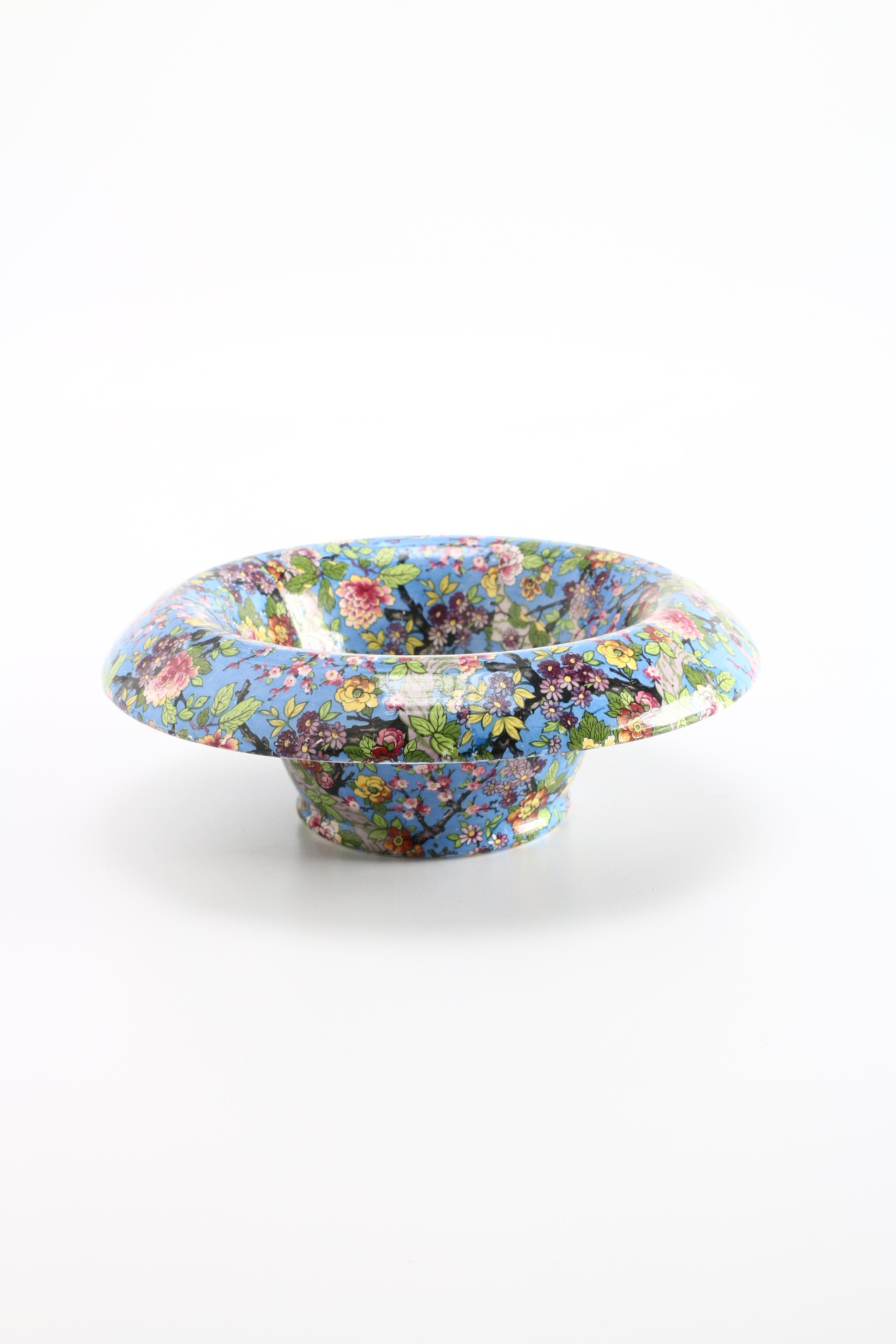 Crown Ducal Floral China Bowl