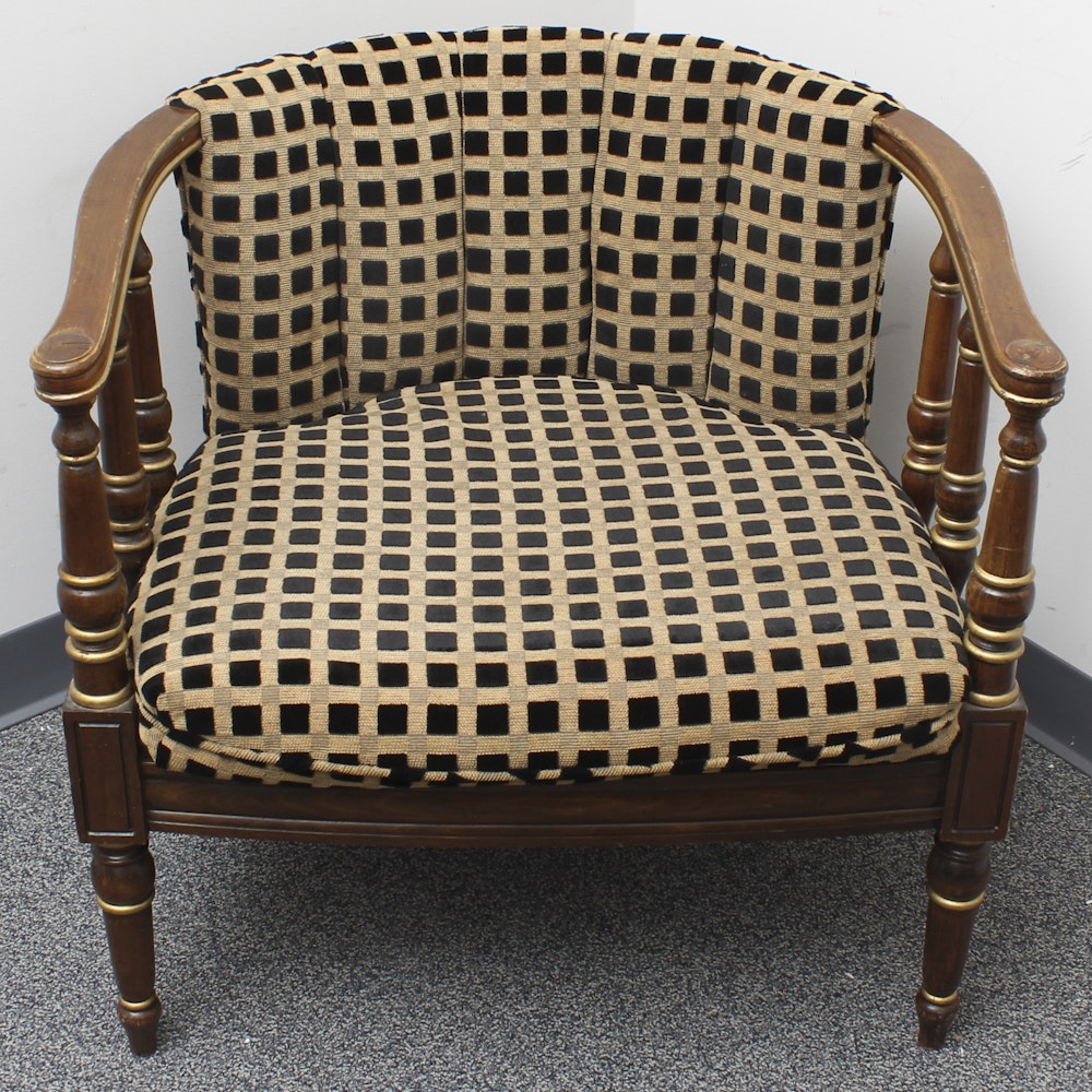 Mid 20th Century Empire Style Desk Chair