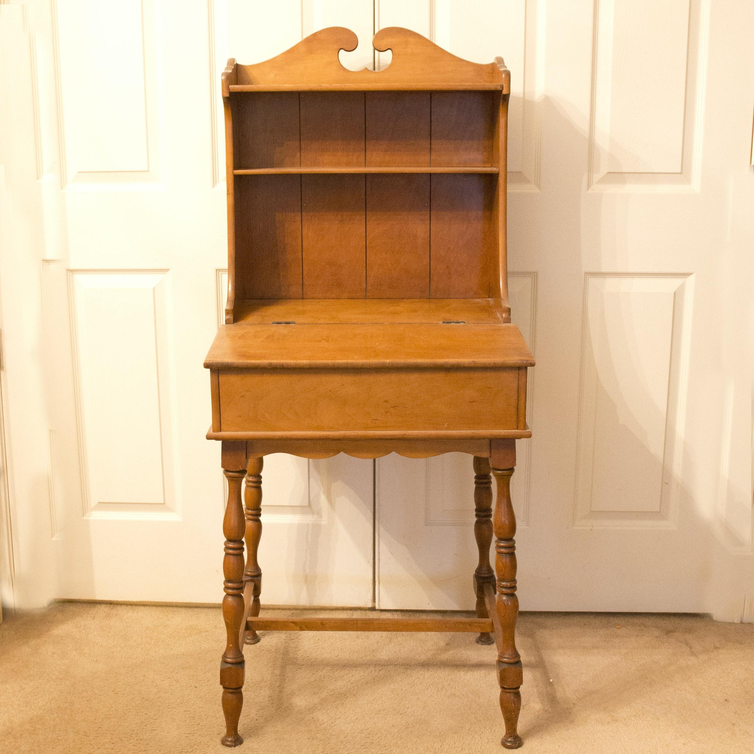Mid-Century Child's Secretary Desk