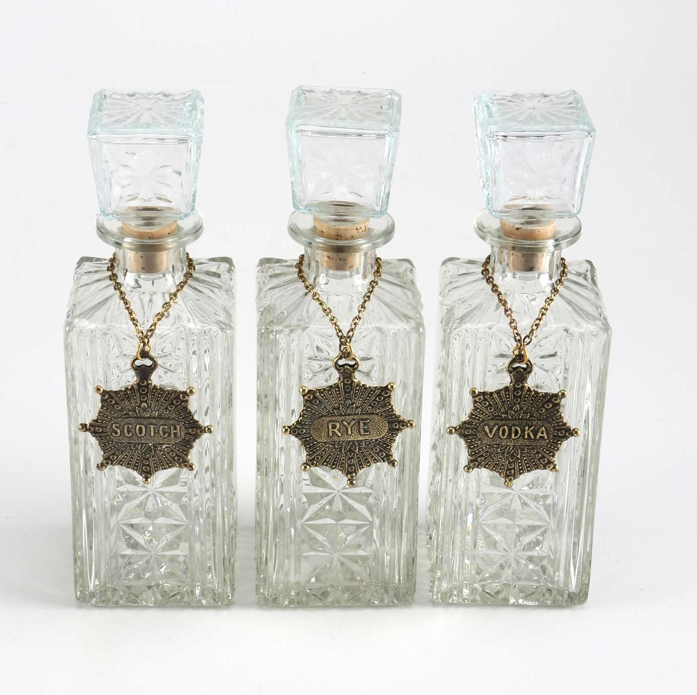 Wheatonware Glass Decanters