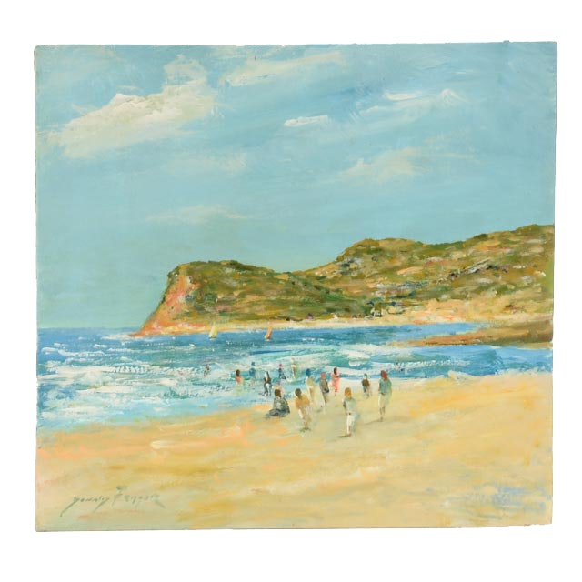 Donald Fraser Original Oil Painting on Board