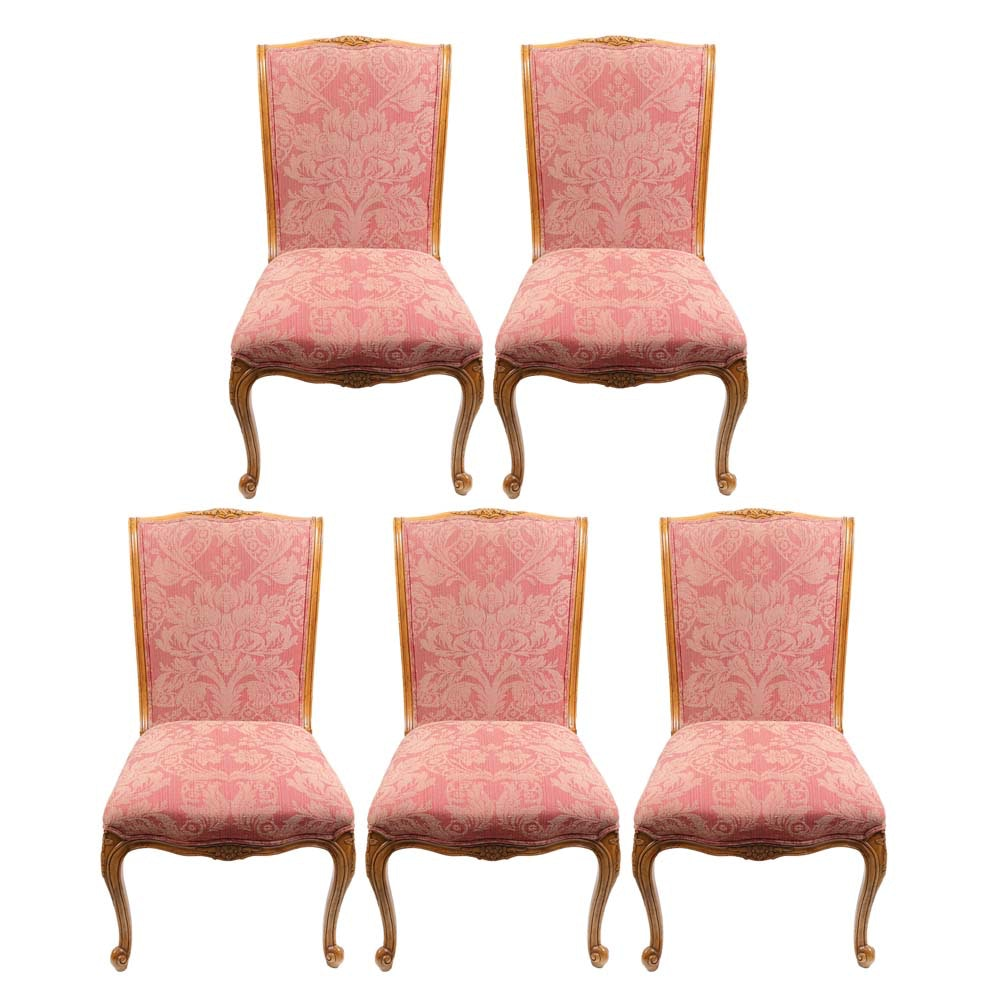 Upholstered Louis XV Dining Chairs