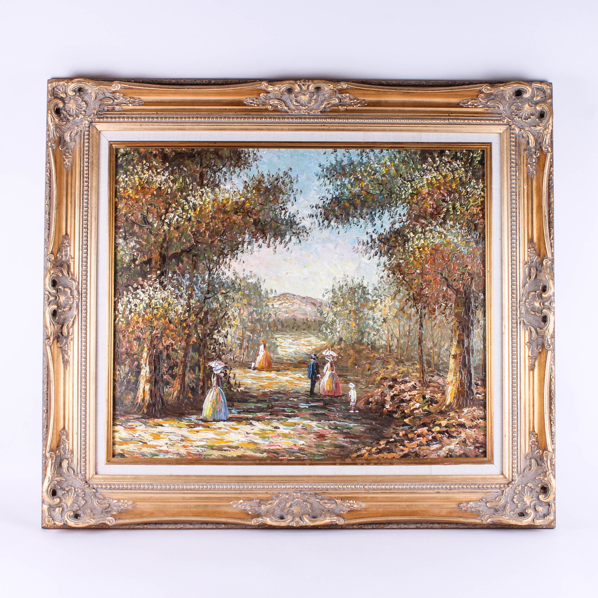 Original Framed Oil Painting