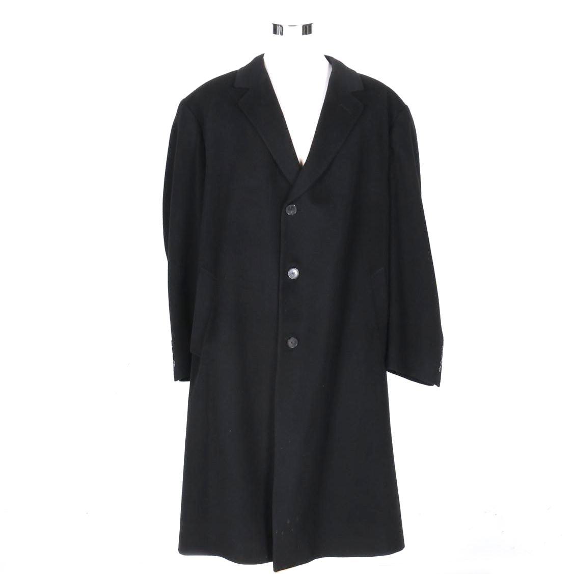 Men's Cashmere Overcoat