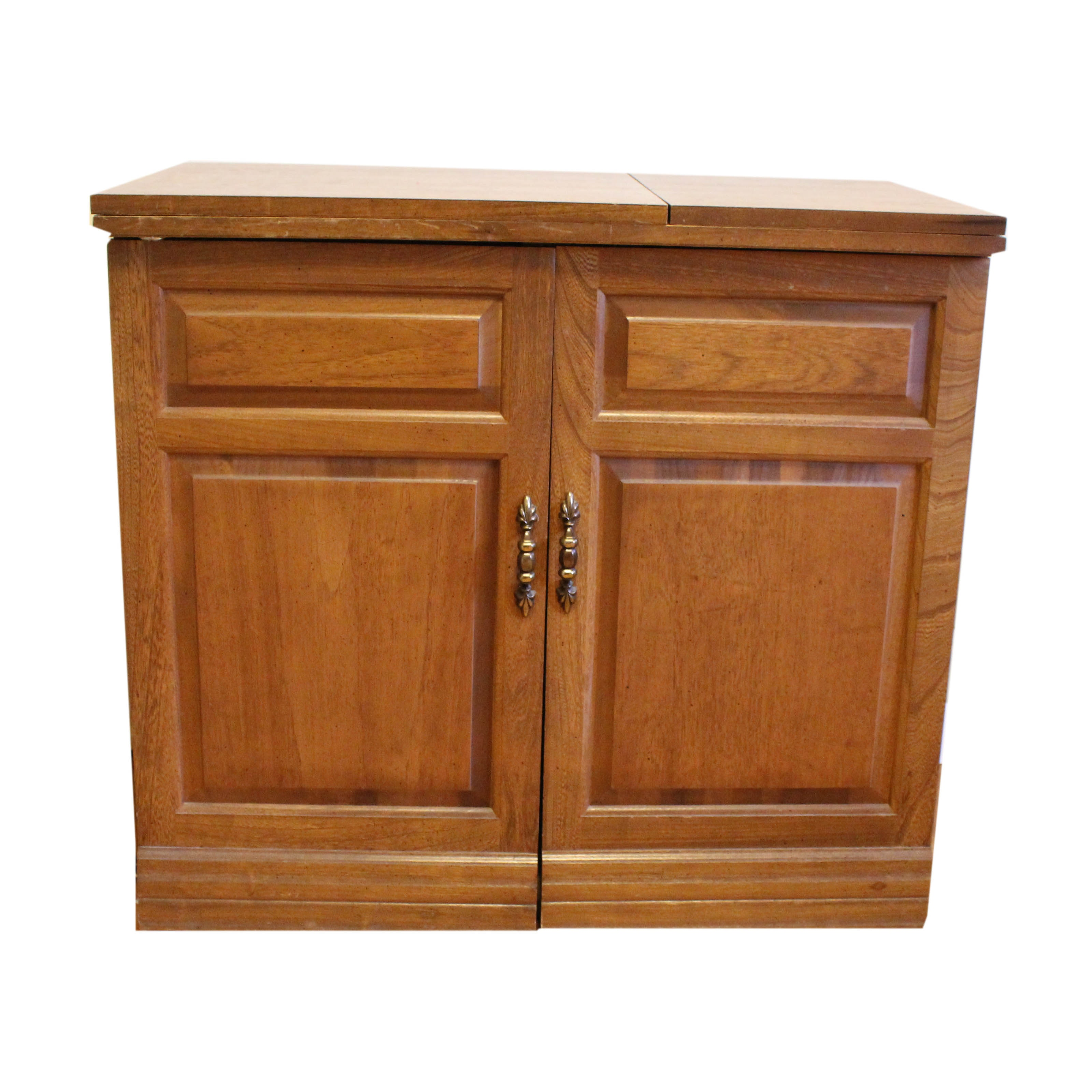 Parsons Wood Sewing Cabinet Ebth