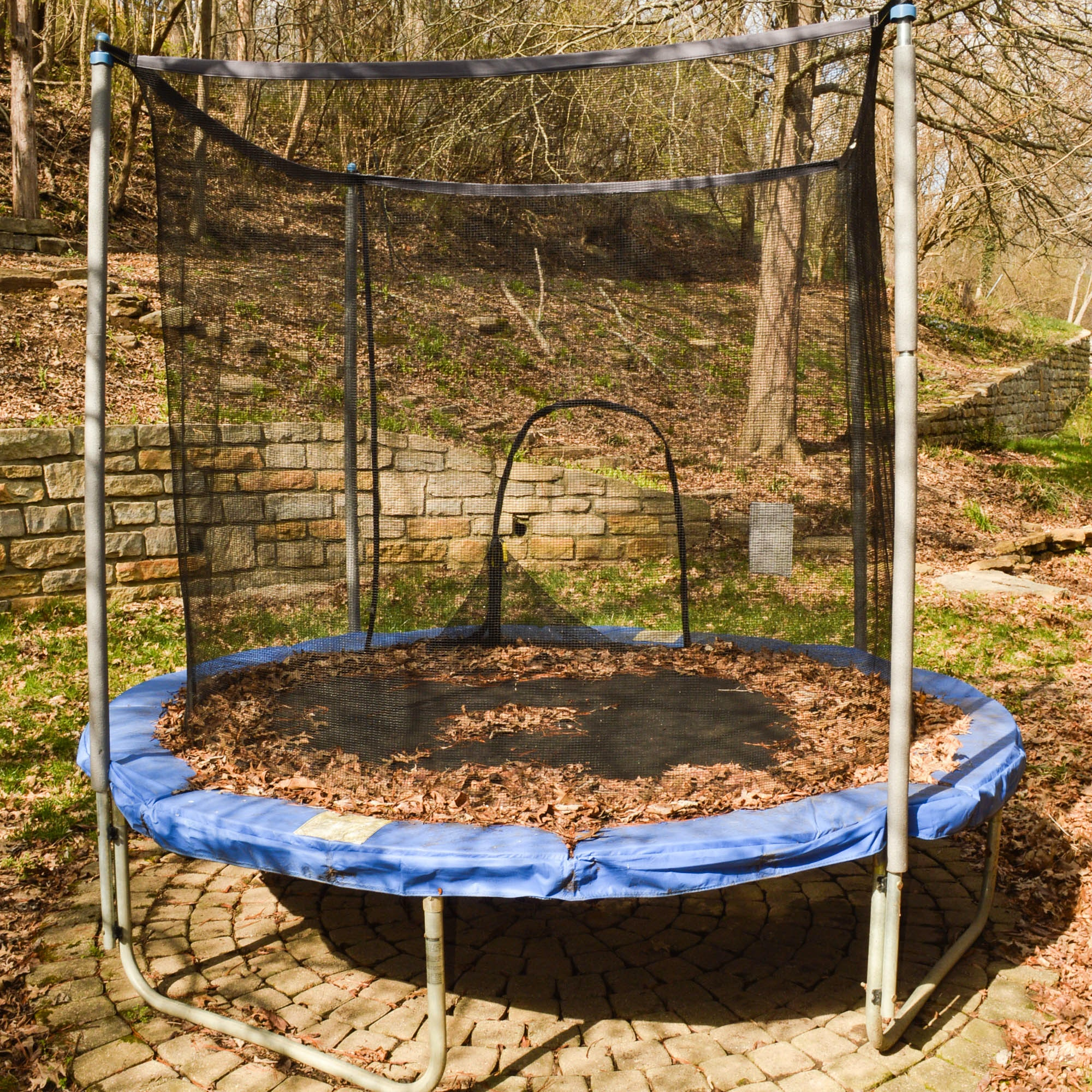 8-Foot AirZone Outdoor Spring Trampoline