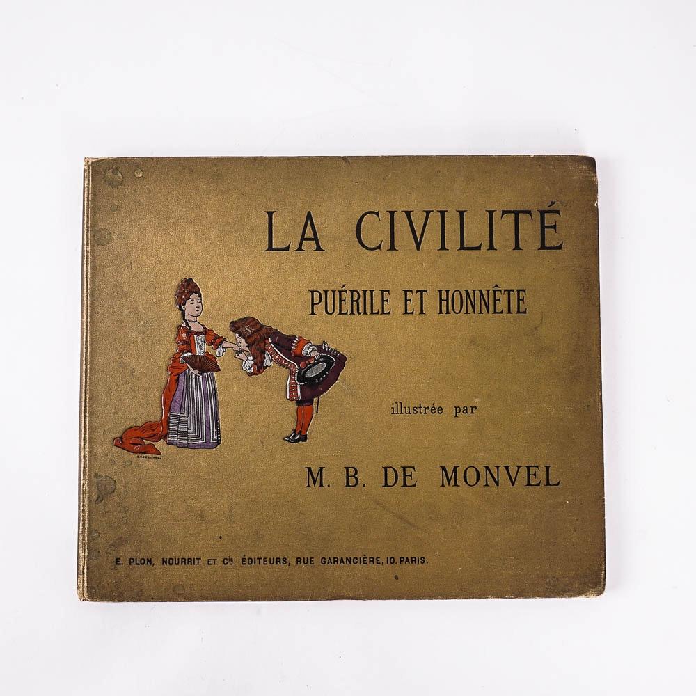 """Antique French Children's Book """"La Civilité"""""""