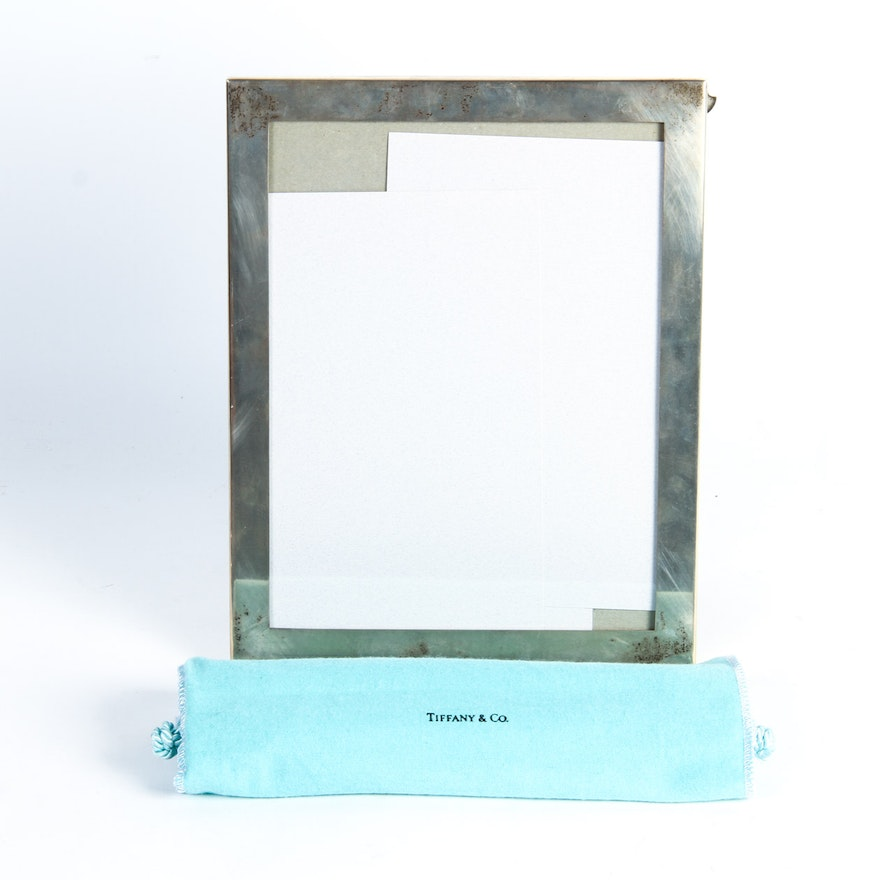 Sterling Silver Picture Frame By Tiffany Co Ebth