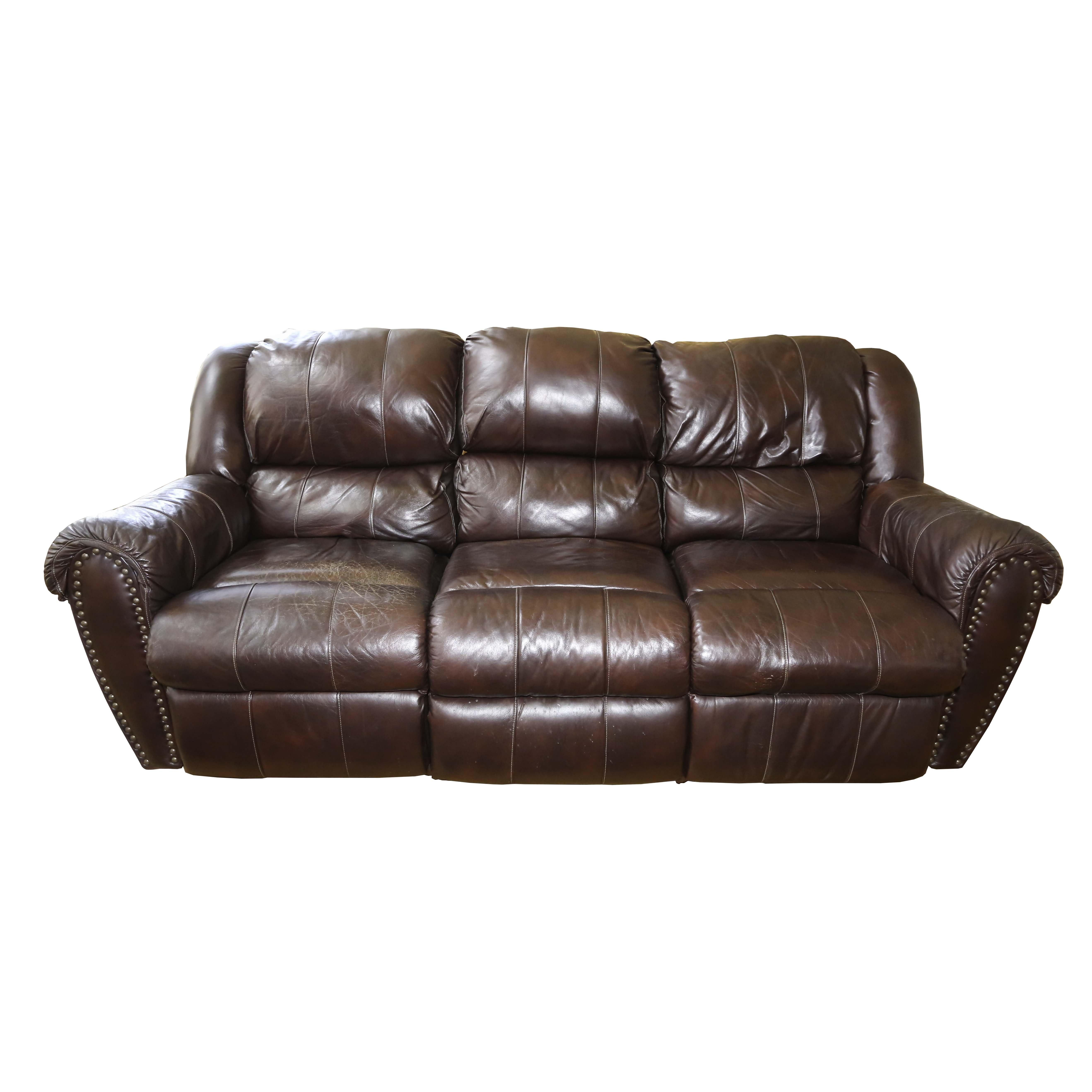 Walworth Reclining Leather Sofa