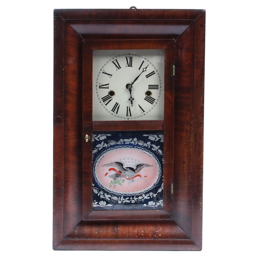 Antique Ansonia Eight Day Mantel Clock
