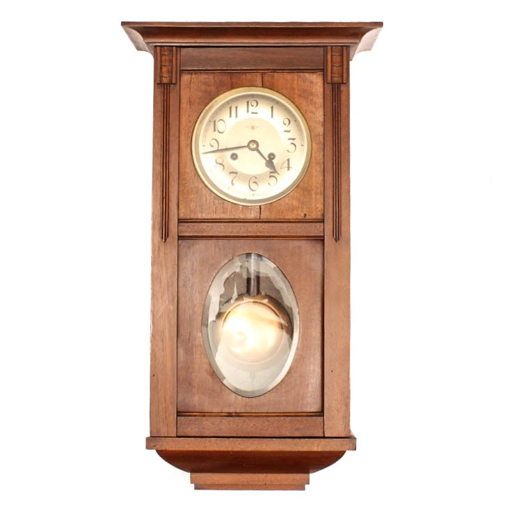 Vintage Kienzle Umren Pendulum Chiming Wall Clock