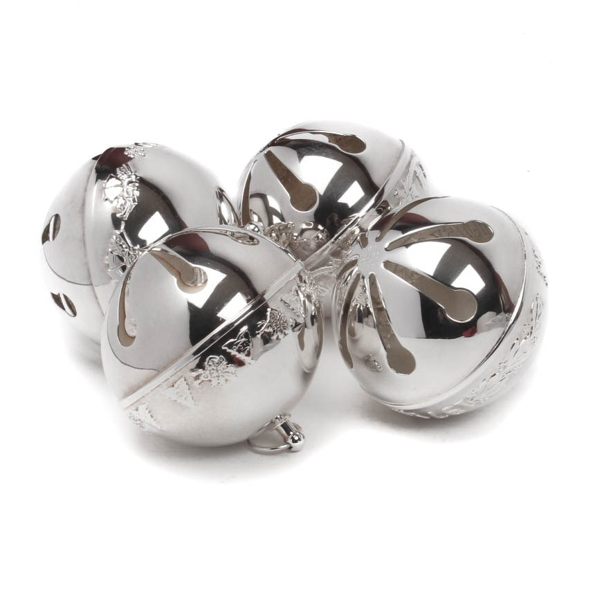 Wallace Silver Plate Holiday Bells