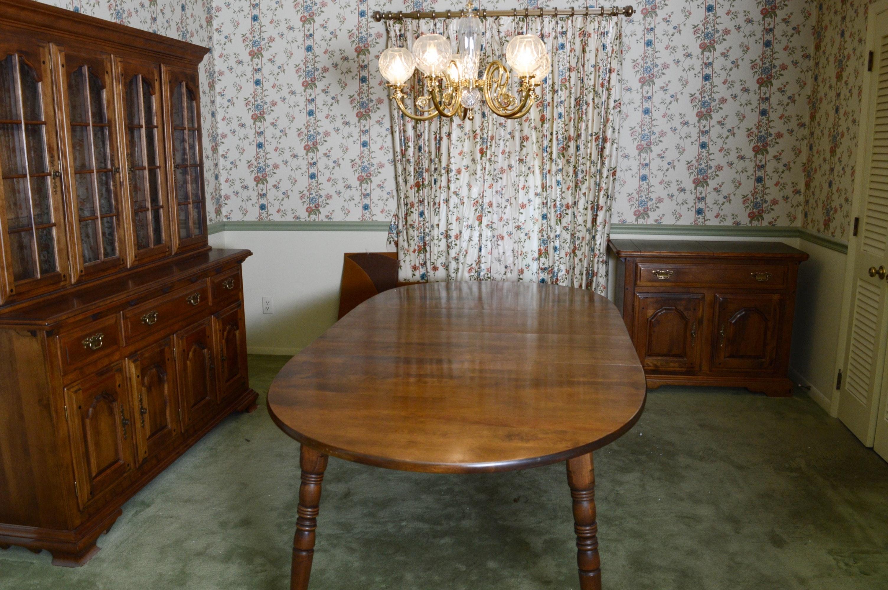 Vintage Temple-Stuart 3 piece Dining Set