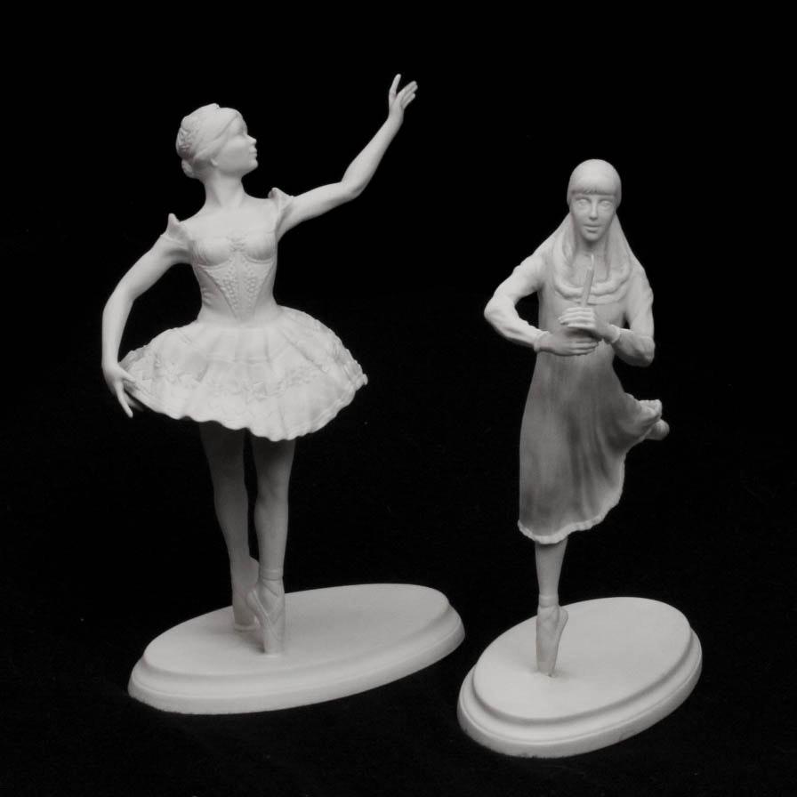 "Boehm Ballerinas ""Coppelia"" and ""Nutcracker"""