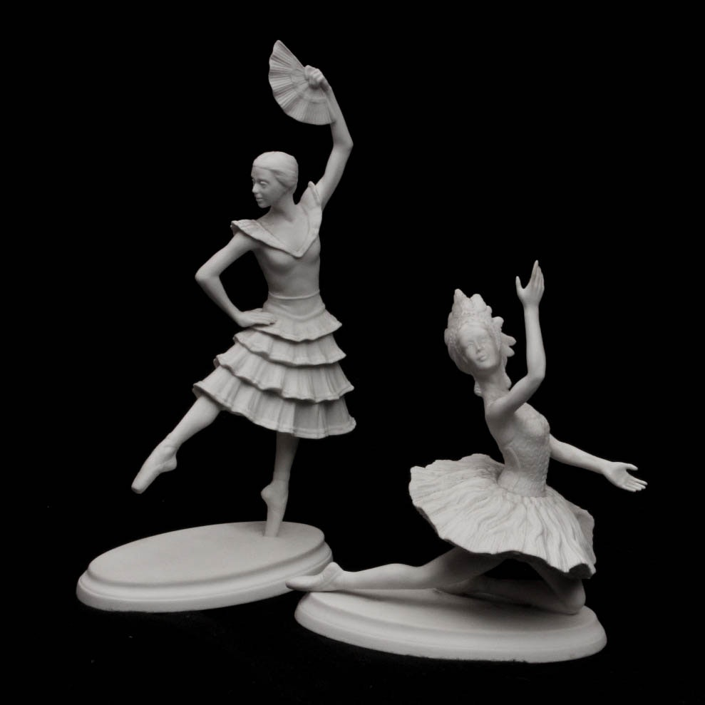 "Boehm Ballerinas ""Firebird"" and ""Don Quixote"""