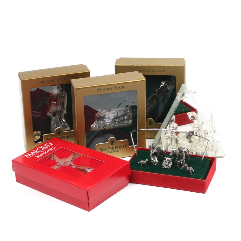 Waterford Crystal Christmas Ornament Collection