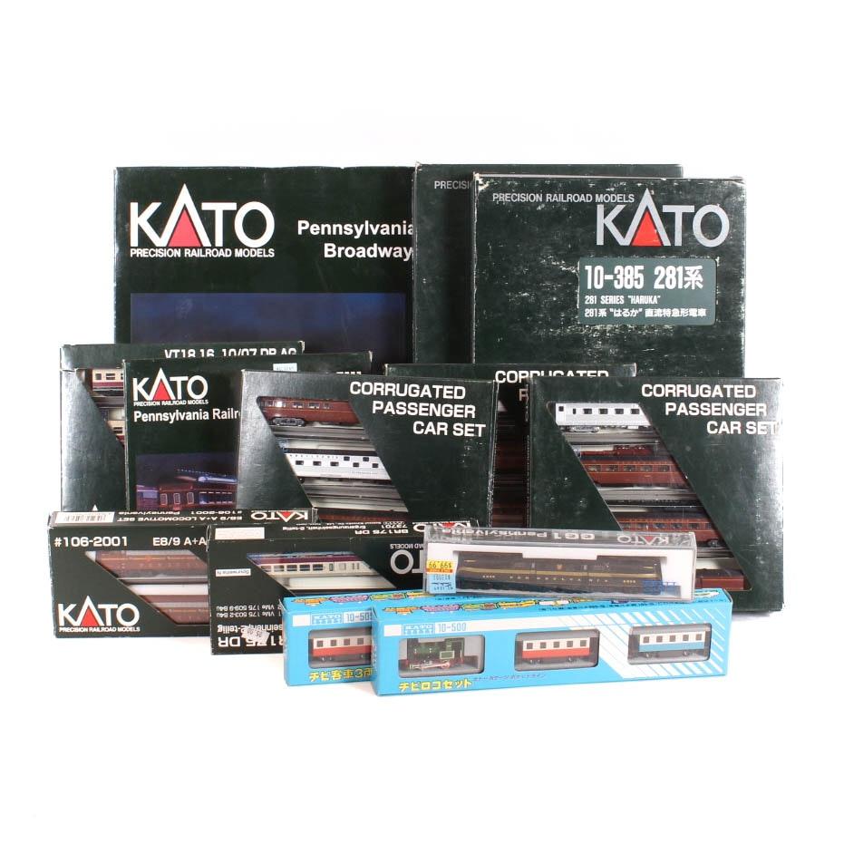 Kato N-Scale Train Collection