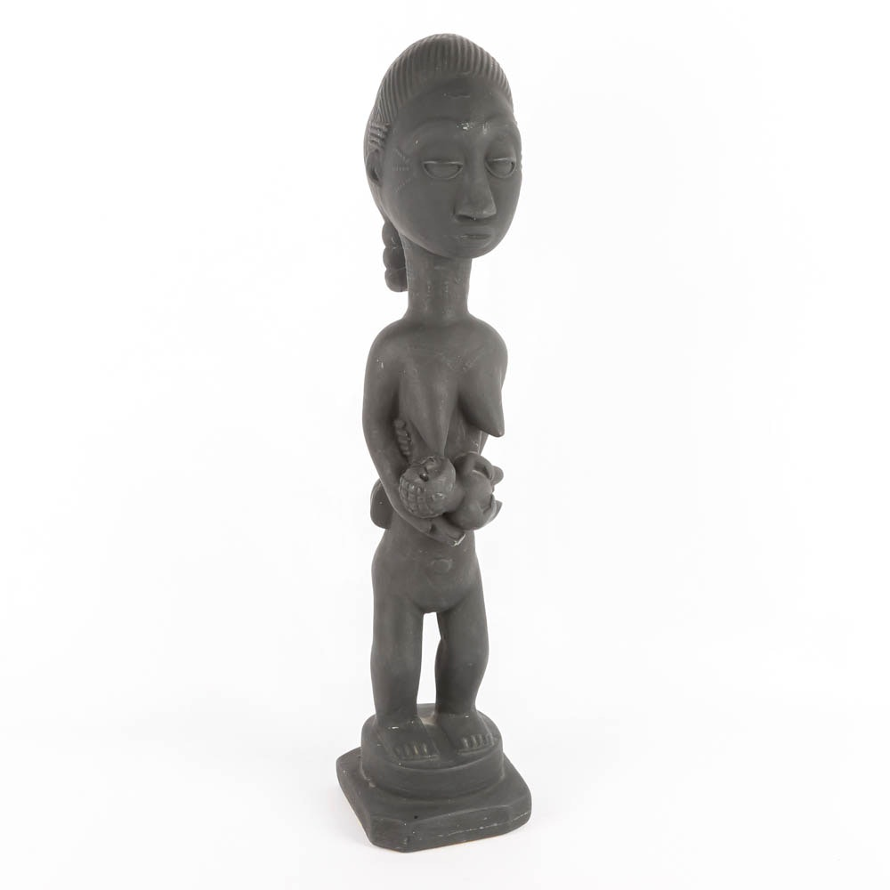 African Style Fertility Sculpture
